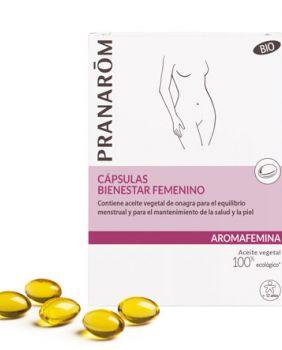 CAPSULAS BIENESTAR FEMENINO - ONAGRA - PRANAROM