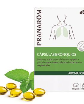 AROMAFORCE CAPSULAS BRONQUIOS - PRANAROM