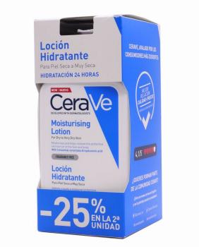 Hidratante Piel Seca a Muy Seca Pack 2 - CeraVe